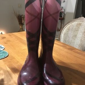 Authentic Burberry rain boots 40/10 Italy